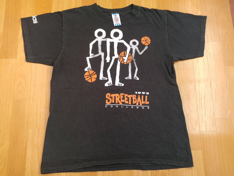 Streetball Jahre Alten Hop Große Made L Shirt1992 90er Jahrgang Hip Hemd Kleidung1990er Schule T Adidas Challenge BasketballGröße K1JFTlc