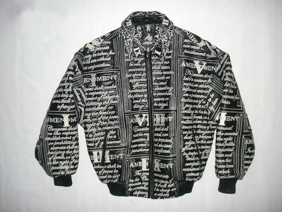 Wissam Kleidung1990er Al York StreetwearAvirexDesignerGröße New JackeBesticktGenäht90er S LederjackeVintage Jahre Hop Small Hip EDeWH9I2Y