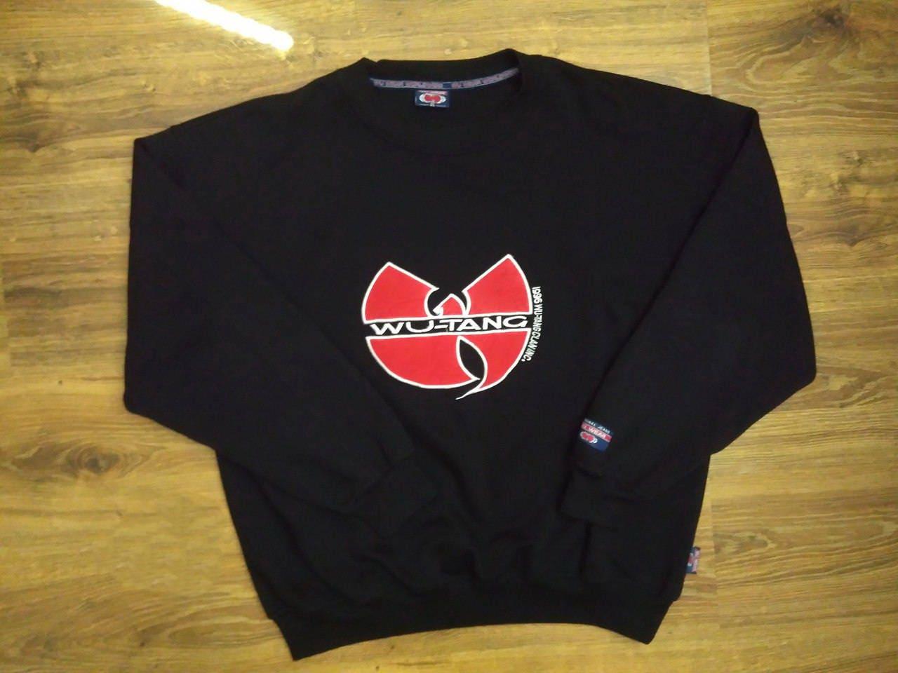 fa49ee1254a WU WEAR sweatshirt Wu Tang jacket vintage hip hop sweat