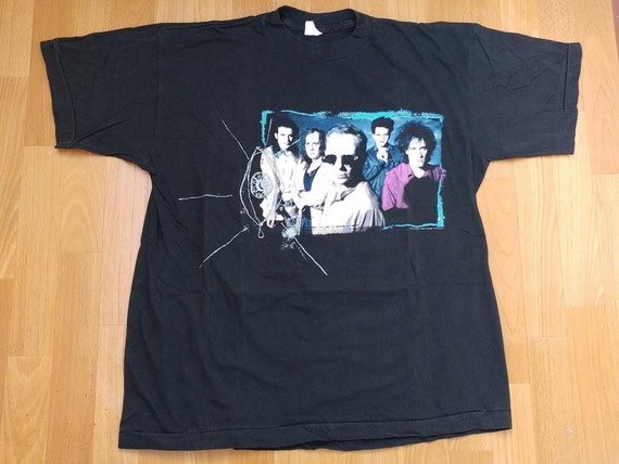 Vintage The Cure T-Shirt, 1992 Wish Tour Concert,… - image 1