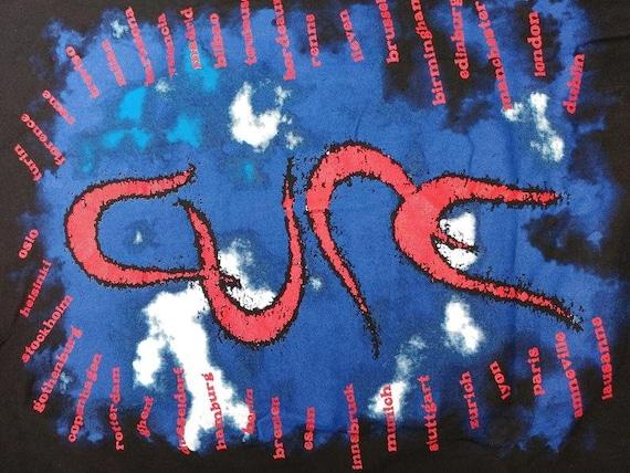 Vintage The Cure T-Shirt, 1992 Wish Tour Concert,… - image 9