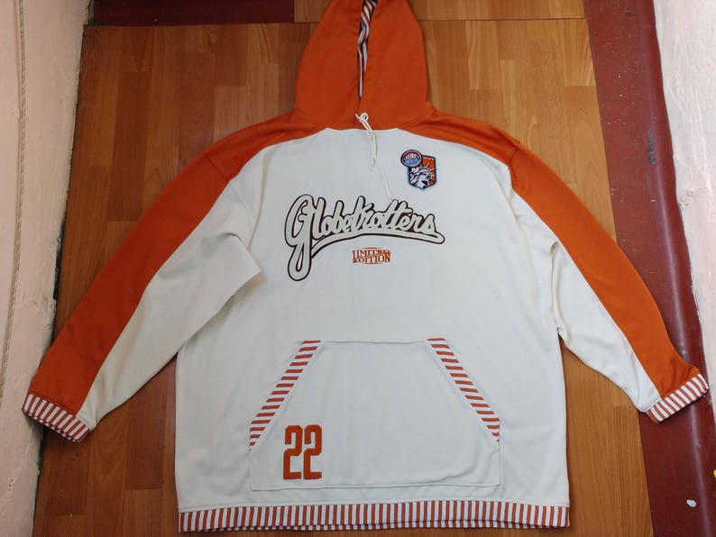 best sneakers 4631a e2cfd Platinum Fubu jersey Harlem Globetrotters t-shirt white   Etsy