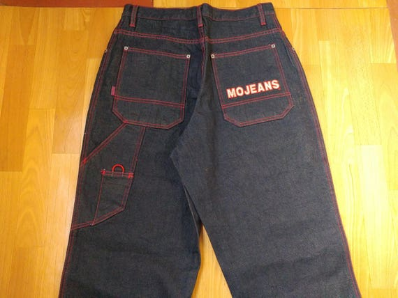 MAURICE MALONE jeans, Mojeans, blue vintage baggy