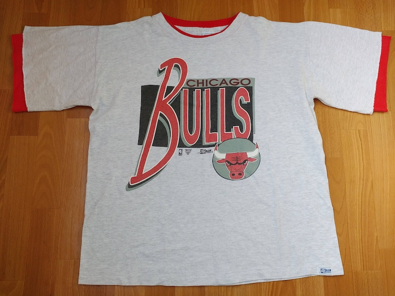 83c9ed4dfdfc Chicago Bulls jersey NBA officially licensed t-shirt vintage