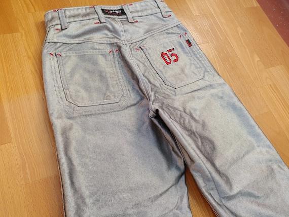 FUBU jeans, vintage baggy jeans, carpenter loose f
