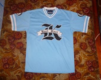 KARL KANI jersey, vintage hiphop t-shirt of 90s hip-hop clothing, 1990s hip hop shirt, og, gangsta rap, old-school, OG, size L