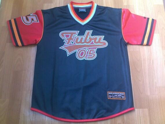 Fubu T Shirt Vintage Hip Hop Jersey Of 90s Rap Clothing Etsy