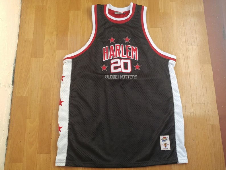 new style 74198 d603f Platinum Fubu jersey Harlem Globetrotters vintage Marques   Etsy