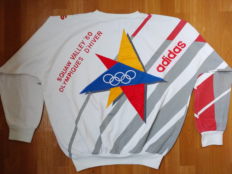 Adidas Vintage Olympic Winter Games St. Moritz 1928 Crewneck   Etsy