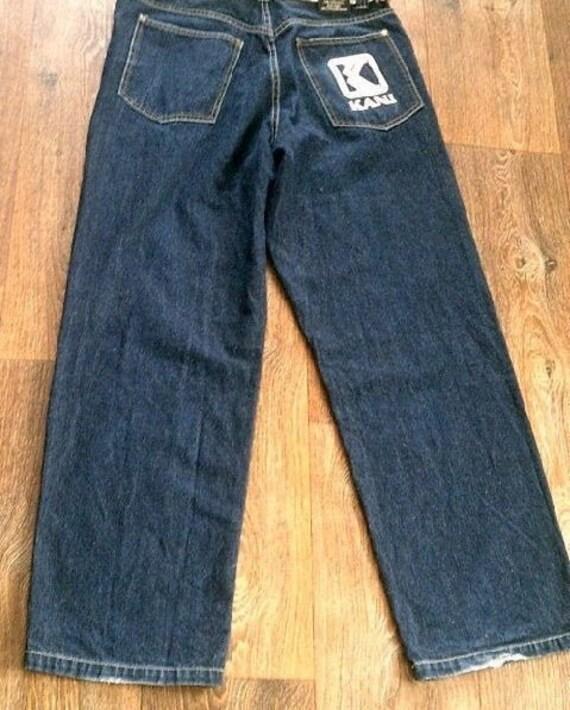 KARL KANI jeans, vintage baggy Kani jeans loose di