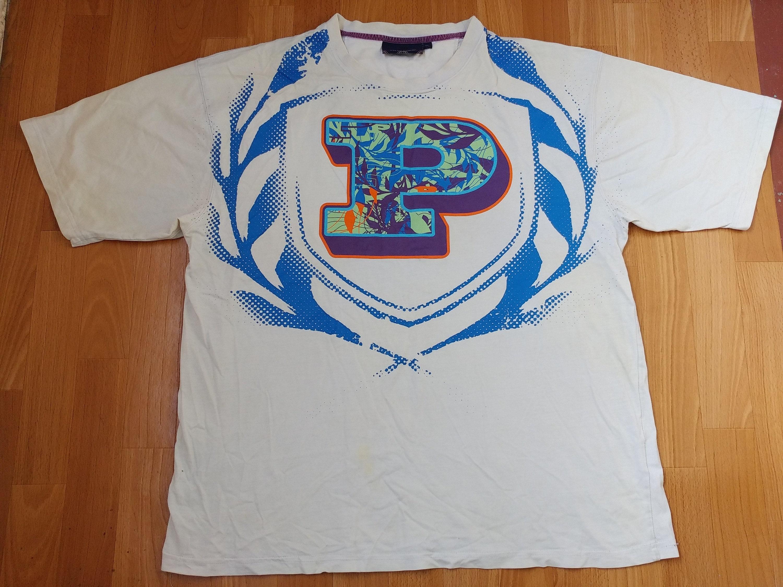 Camiseta PHAT FARM ropa hip-hop jersey blanco vintage de los