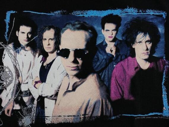 Vintage The Cure T-Shirt, 1992 Wish Tour Concert,… - image 6