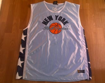 Ruff Ryders jersey, vintage DMX t-shirt 90s hip-hop clothing, 1990s hip hop shirt, basketball tank, OG, gangsta rap, size XL