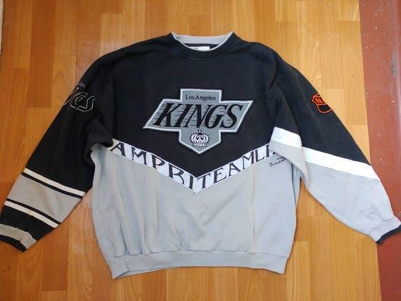Kings de Los Angeles LNH Sweat shirt, sous licence officielle Raiders de rois de LA chemise, Campri Teamline, taille de vêtements hip hop des années