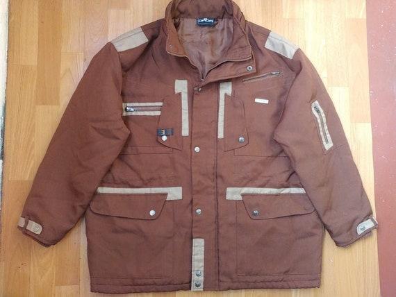 Damani Dada Supreme jacket, brown vintage hip-hop