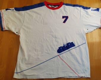 Dada Supreme hip-hop jersey, vintage Damani t-shirt of 90s hip-hop clothing, 1990s hip hop shirt, cotton, OG, gangsta rap, size XXL 2XL