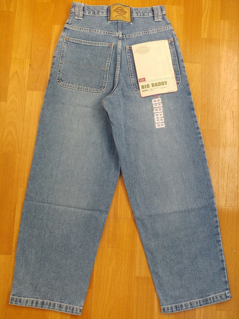 cb3d3a4e88 New Dickies jeans vintage baggy jeans Big Daddy hip-hop