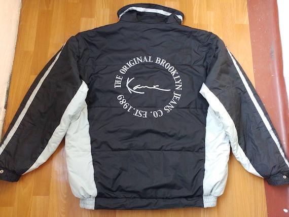 Karl Kani jacket, vintage black hip hop jacket, 90