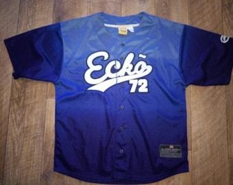 ECKO UNLTD jersey, vintage hip hop t-shirt, 90s hip-hop clothing, 1990s, OG, gangsta rap, size L