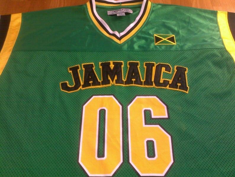fbf237cd1 JAMAICA t-shirt vintage lowrider jersey vintage Los Angeles