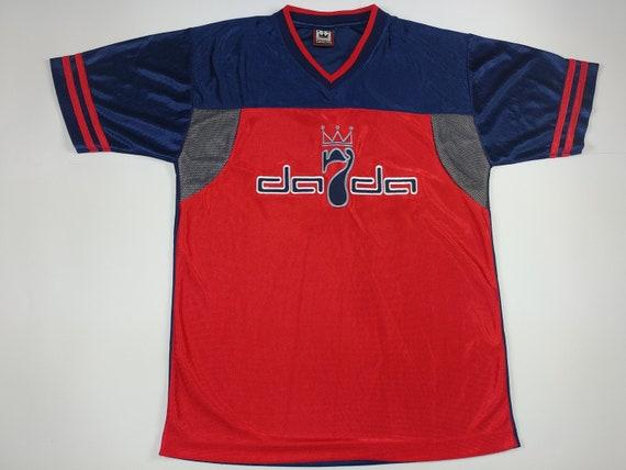 Damani Dada Supreme jersey, red vintage hip-hop t-
