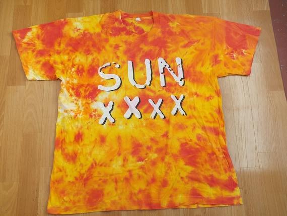 Vintage Sun XXXX t-shirt, 1995 concert tour shirt