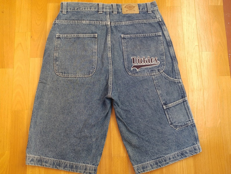 d9db4022844 Dickies shorts carpenter baggy jeans denim shorts of 90s