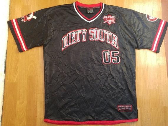 FUBU jersey City Series vintage Dirty South t-shirt 90s   Etsy