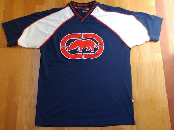 Ecko Unltd Jersey Vintage T Shirt 90s Hip Hop Clothing Etsy