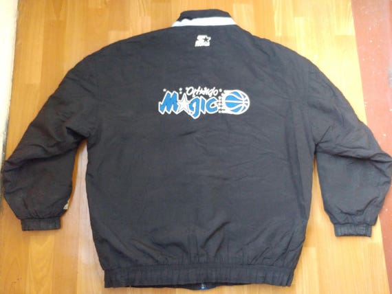 5024e862be2 NBA STARTER Orlando Magic jacket full zip black vintage
