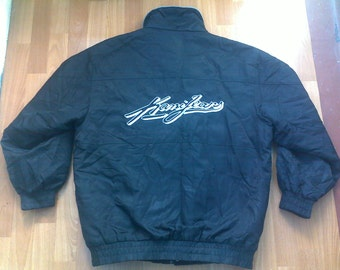 KARL KANI jacket, vintage Kani windbreaker, 90s hip-hop clothing, 1990s hip hop shirt, OG, gangsta rap, sewn, size L rare
