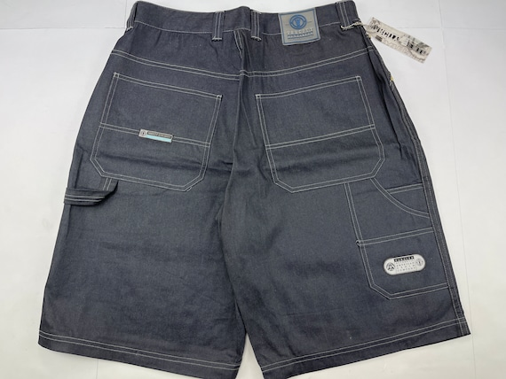 Deadstock 1990s Tommy Hilfiger Classic Fit Straight Leg jean shorts--with original tags--size Mens 36 Waist
