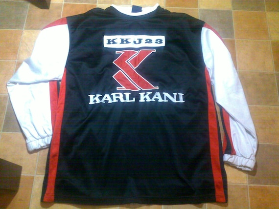 KARL KANI t-shirt vintage jersey 90s hip-hop cloth