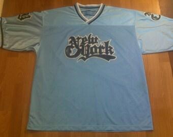 New York t-shirt vintage lowrider jersey vintage NYC hip hop t-shirt 90s hip-hop clothing Chevrolet Impala Chicano, gangsta rap size XL