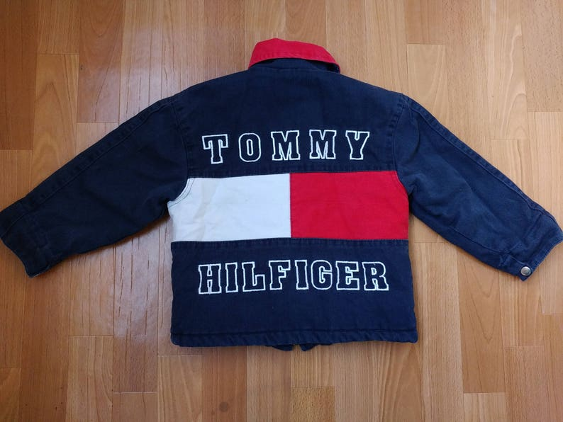 66ed92aa Tommy Hilfiger jacket kids vintage baby toddler jacket 90s | Etsy
