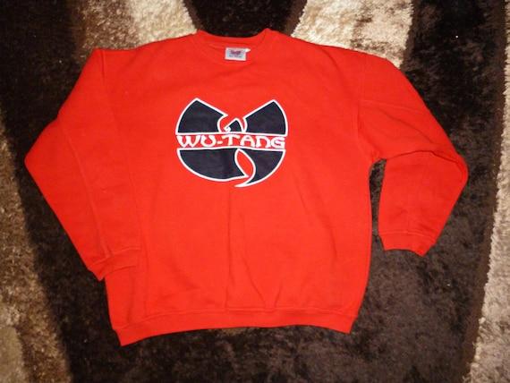 Sweat WU PORTER, veste Wu Tang, vintage hip hop sweat shirt, 1996 cousu authentique Wu Tang Clan jersey 90 s gangsta rap taille XL