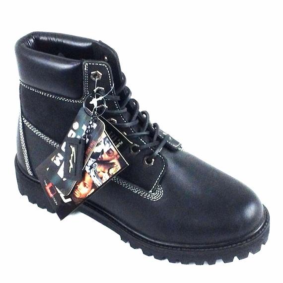 3841a0dc9e31 Vintage FUBU boots deadstock vintage hip hop shoes 90s