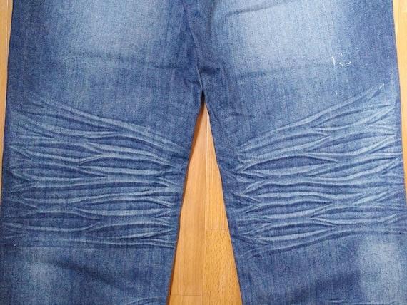 90s hip hop clothing gangsta rap Tupac Makaveli pants 1990s shirt 2Pac jeans old school blue vintage baggy jeans size W 34 streetwear