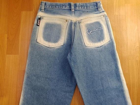 KARL KANI jeans, vintage baggy Kani jeans loose bl