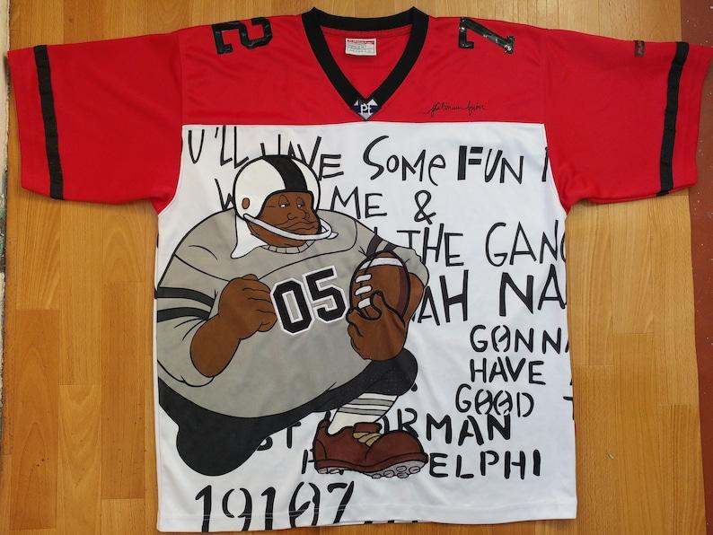 low priced b0107 d0d3d Platinum Fubu jersey Harlem Globetrotters t-shirt basketball   Etsy