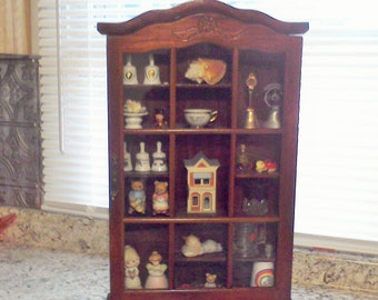 Quick View. Curio Cabinet Wall Curio Cabinet Display ...