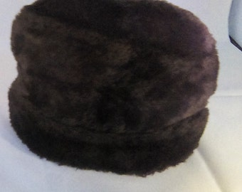 f4aaa34fb Faux fur hat | Etsy