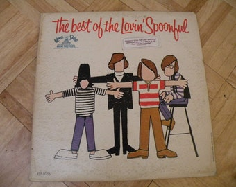 The best of the Lovin' Spoonful, Record Album,With Photos