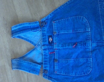 Denim Overalls ,   Waist 38,inseams 32  work cloths, farm cloths Dickies brand never worn