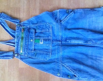 Denim Overalls  work cloths Liberty  Brand 36 waist, 30 inseams faded well worn
