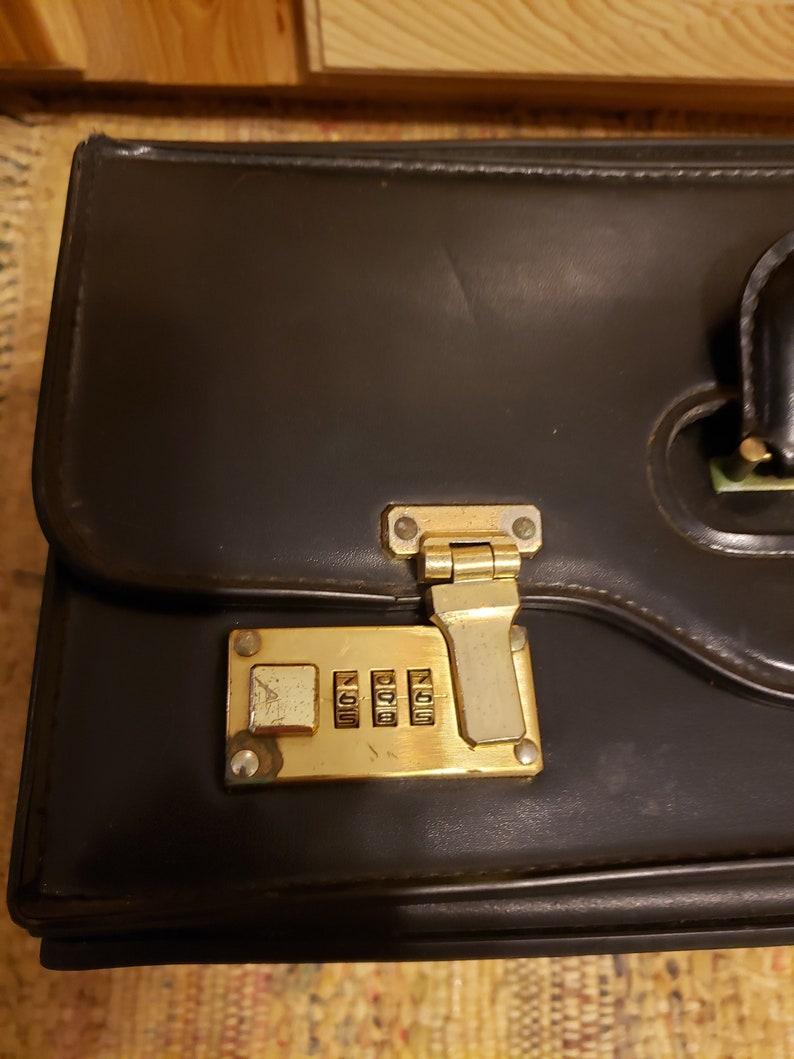 Large brief case salesman/'s case locking carrying case suitcase doctors bag travel case