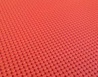 Mazda Miata LE Red Squareweave Vinyl for door panels