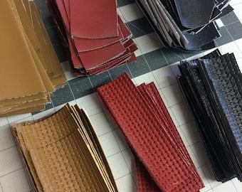 Mazda Miata Vinyl Swatches for door panels; 2 pack
