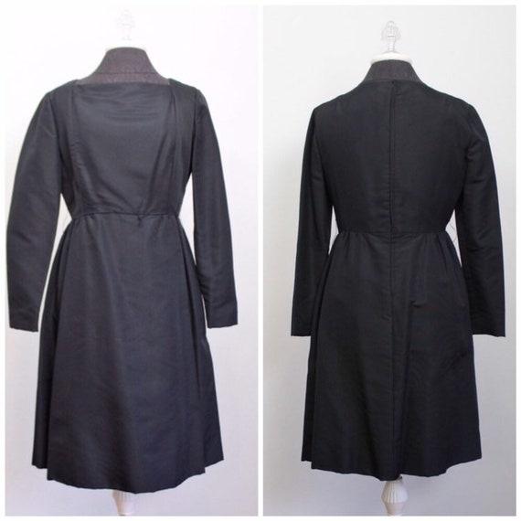 Vintage 60s Teal Traina Dress - 1960s Designer Lit