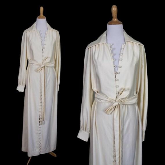 Vintage 1970s Eva Gabor Estevez Dress - Size Large